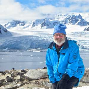 Travel writer Bob Jenkins