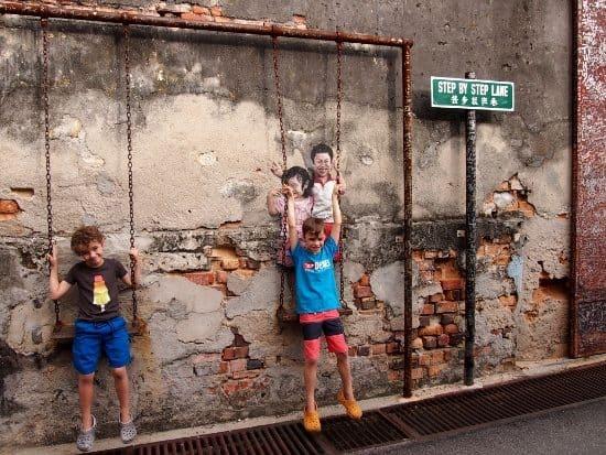 street art malaysia travel blog family