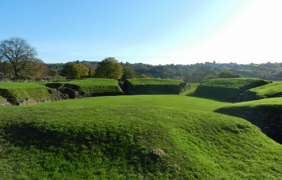 Things to do in South Wales. Caerleon Wales Roman amphitheatre