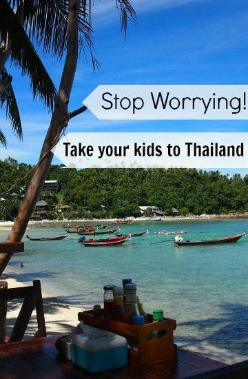 Thailand family travel Taking kids to Thailand.