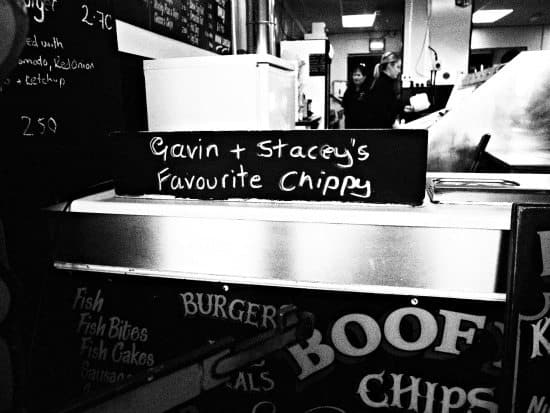 Barry Island Wales Boofy's Fish and Chips