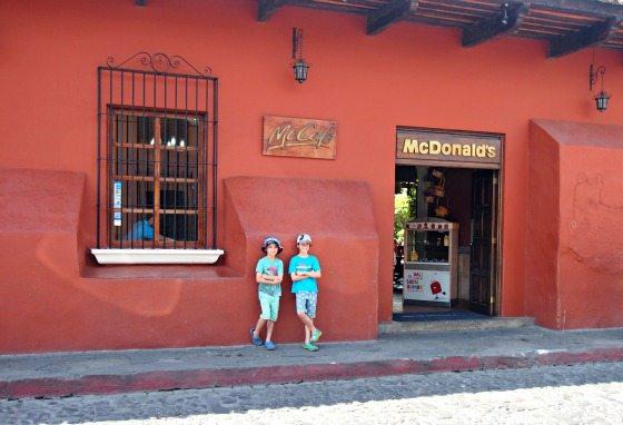 Junk food in Guatemala