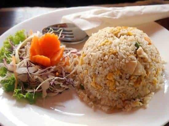 Breakfast in Cambodia. Breakfast around the world