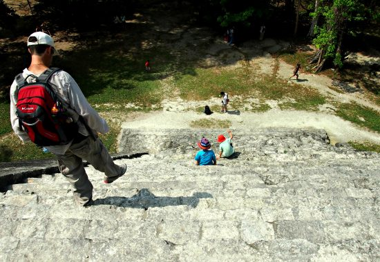 steps tikal guatemala