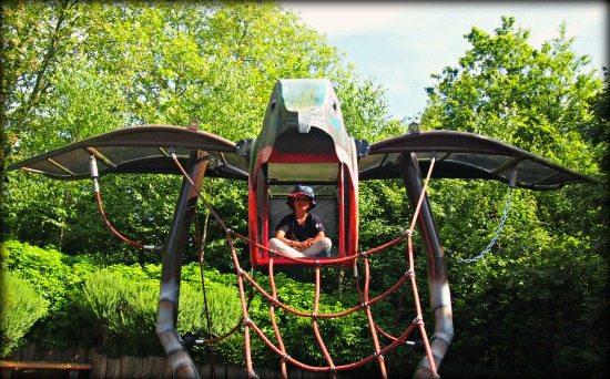 London zoo playground