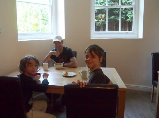 Silk House Hackney family travel blog