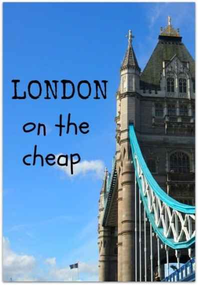 London on the cheap