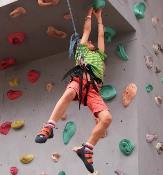 Norwegian epic climbing wall