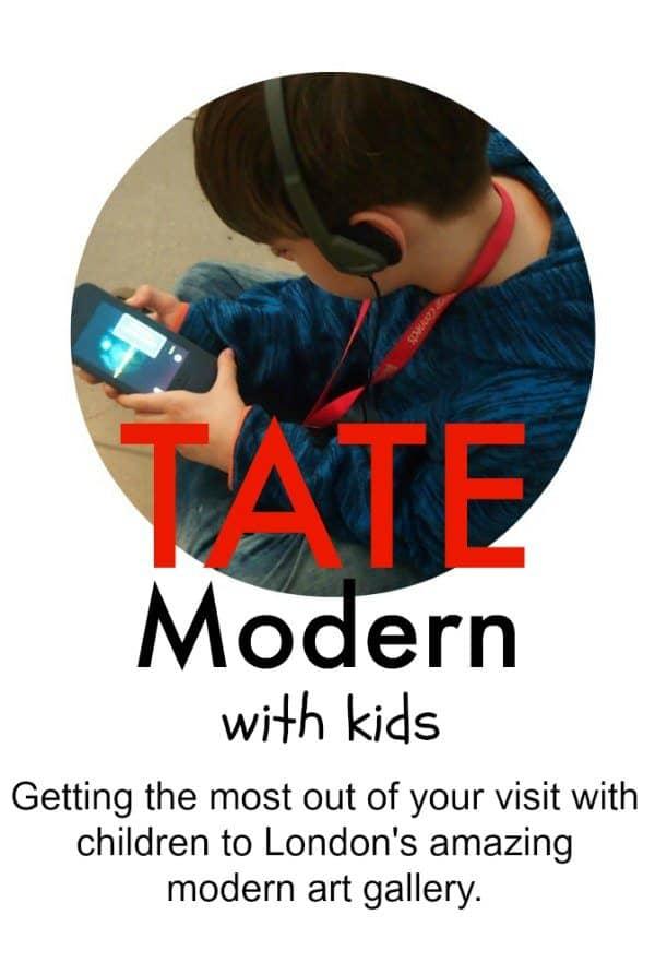 Tate modern london with kids