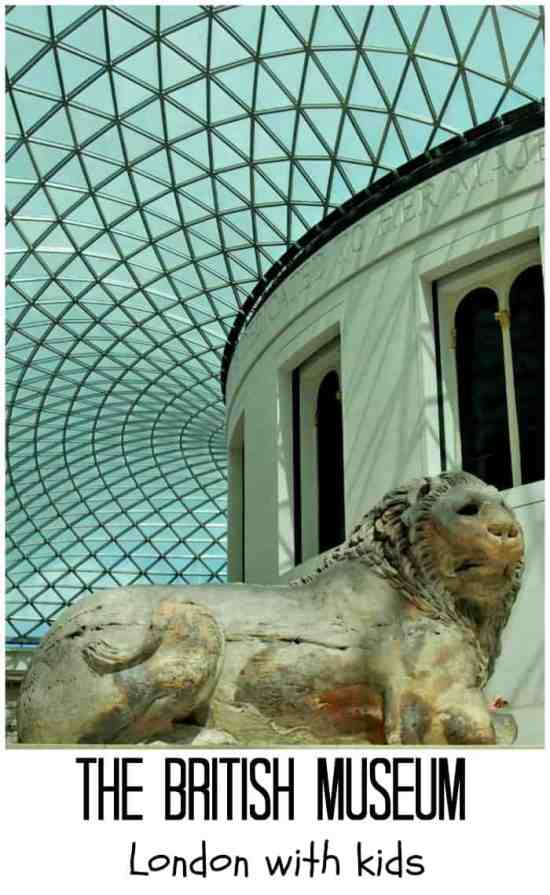 The British Museum with kids pin