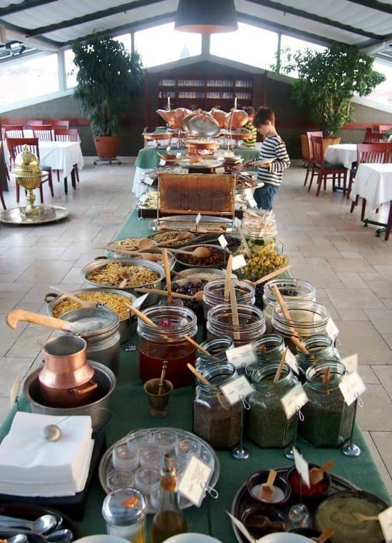 Delicious Breakfast Buffet at Armada Old City Hotel Istanbul.