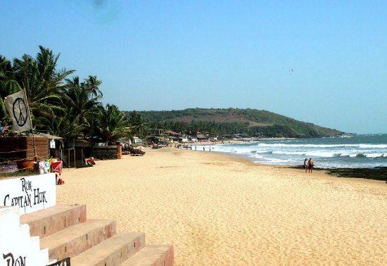 Anjuna Beach, North Goa 2015