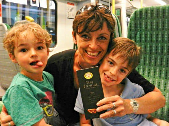 British travel bloggers World Travel Family Marmite-chocolate