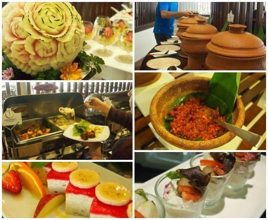 Eden Resort and Spa Buffet Dining