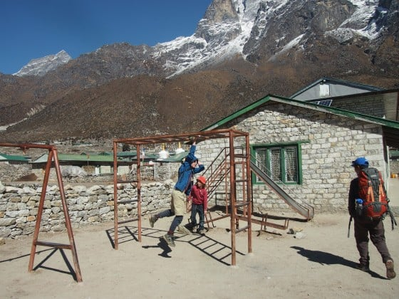Nepal with kids, Kathmandu with kids Hillary school