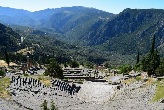 Places to visit in Greece Delphi
