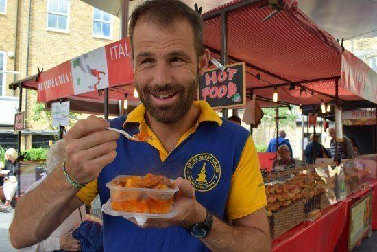 -Greenwich Market Food Stalls Chef