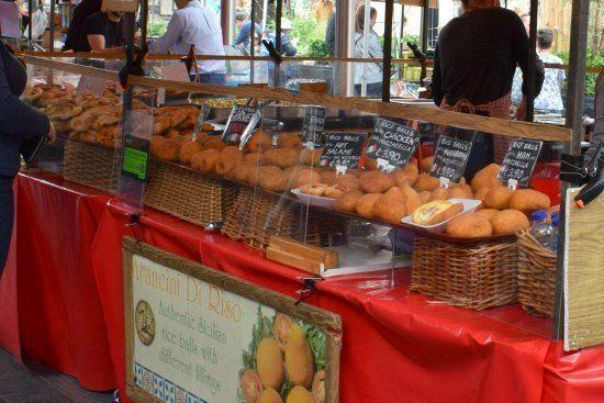 Greenwich Market Food Stalls Italian
