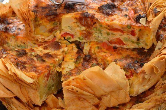 -Greenwich Market Food Stalls Quiche