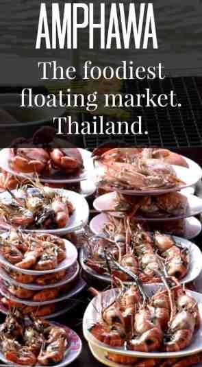 Amphawa floating market foodies