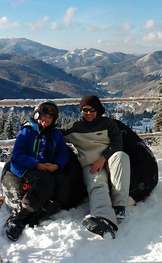 Romania winter skiing