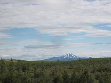Hekla Vulkan von Weitem