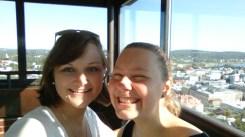 Reunion auf dem Observation Tower!