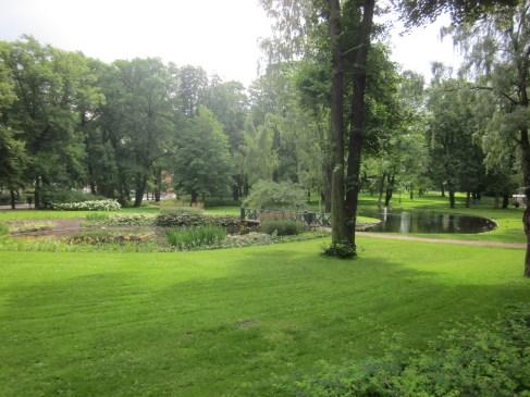 Gepflegte schöne Parks