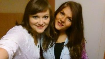 Meine Zimmernachbarin Bernadette aus Ungarn