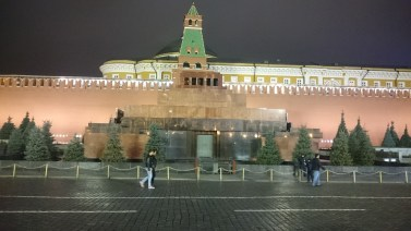 Lenin mausoleum (without a queue!)