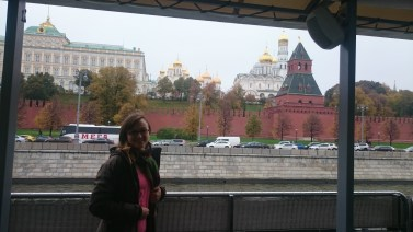 Kremlin from the boat