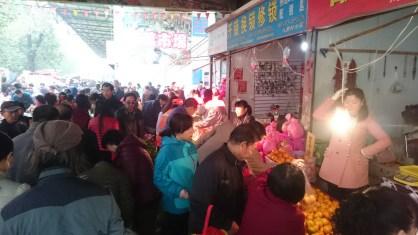 Original chinese market in Xi'an