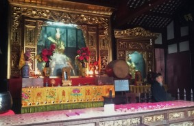 Temple of Taoism - special religion of Chengdu area