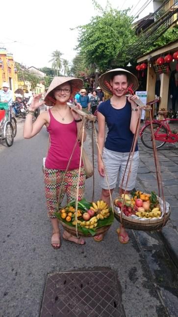 Met Maria again - typical vietnam photo