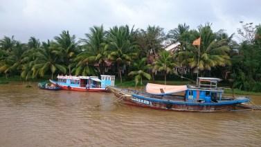 Nice boats on the way