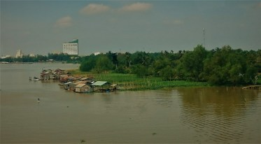 Welcome to Mekong Delta with floating houses