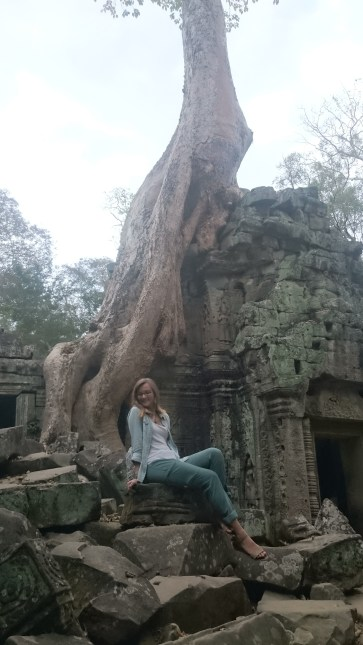 Where nature meets history: Ta Prom Temple