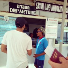 Checkpoint to go to Langkawi, Malyasia from Koh Lipe