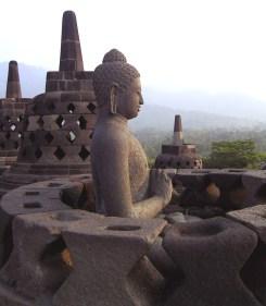 Borobudur Temple on Java, Photo by Jan-Pieter Nap, Wikimedia Commons CC-BY-SA 3.0