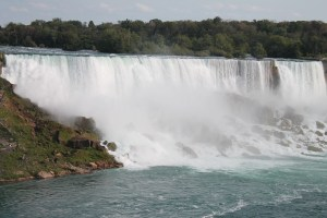 Falls in the daytime