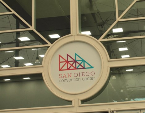 logo for the San Diego convention centre
