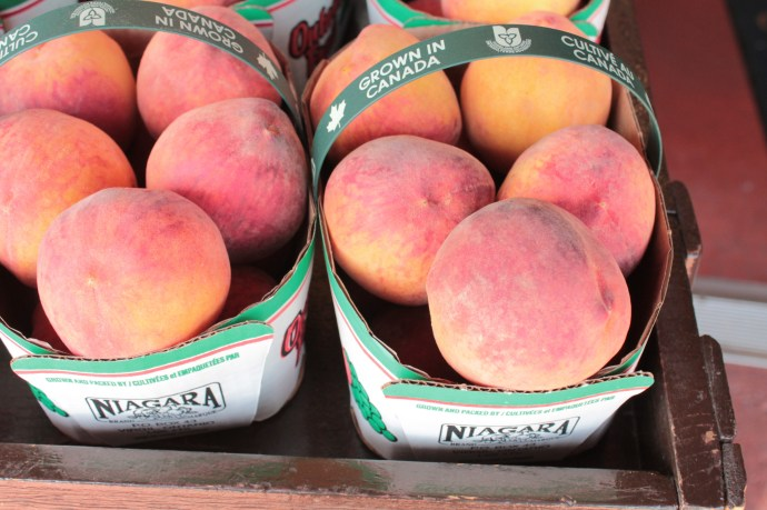 Ontario peaches for sale