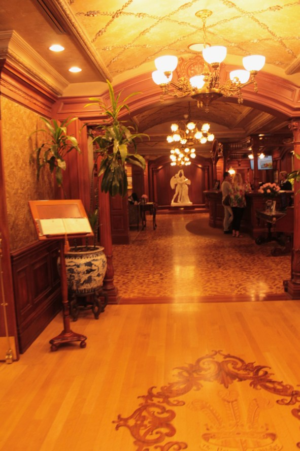 Prince of Wales hallway