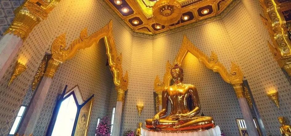 Bangkok 3 day itinerary - Temple of the Golden Buddha