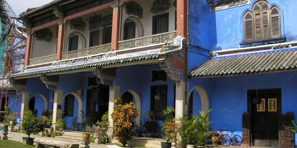 Georgetown Blue Mansion