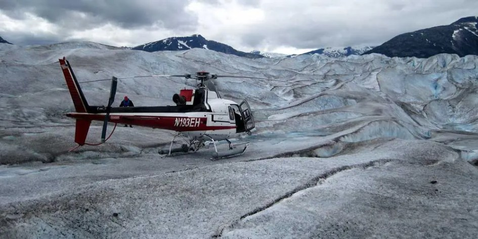 Iceland adventure activities - Helicopter tour