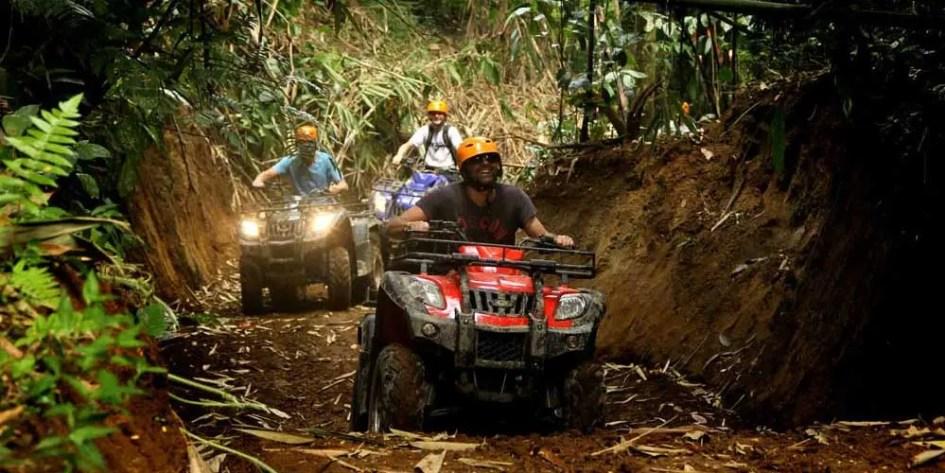 Quad Bike Tour - Adventurous things to do in Bali