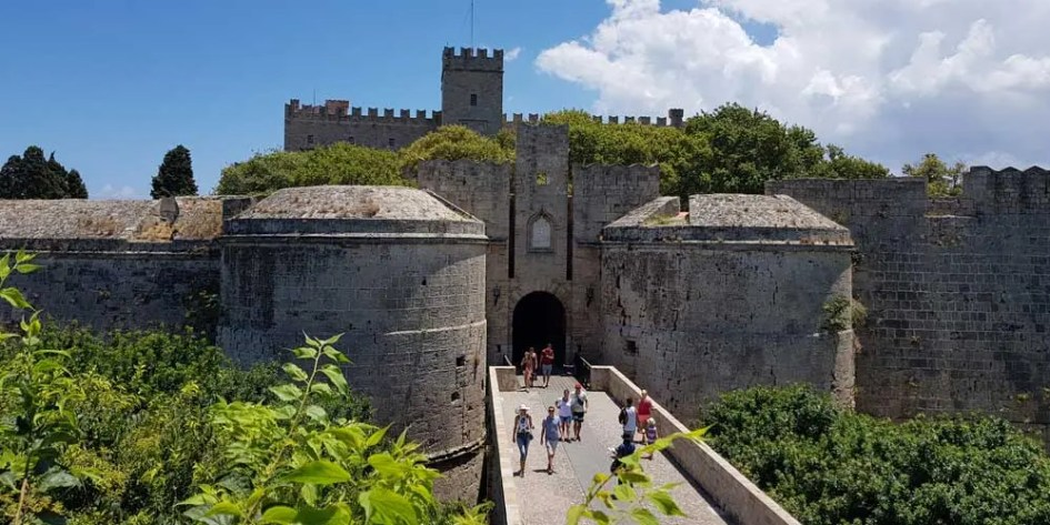 Rhodes Town Castle - Palace of the Knights of Rhodes