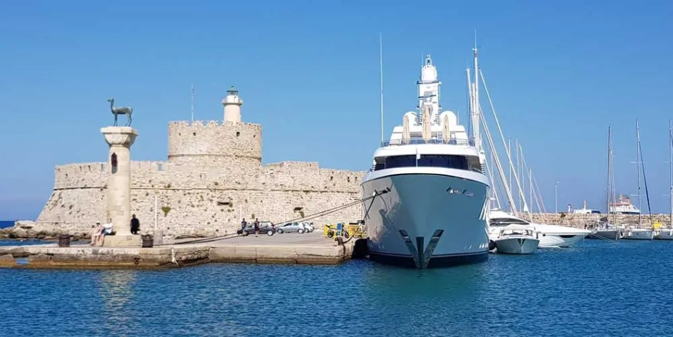 Colossus of Rhodes site
