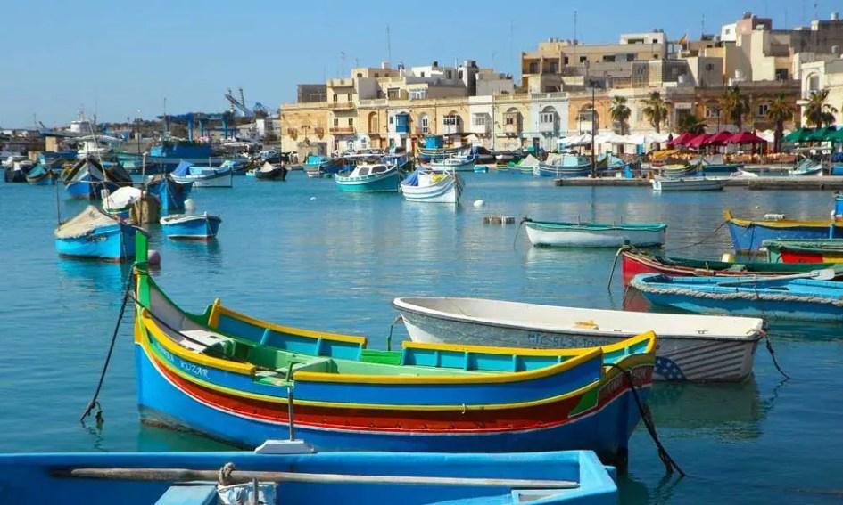 Marsaxlokk fishing village and Malta south coast tours